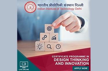 Certificate Programme in 'Design Thinking and Innovation'