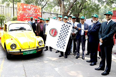 Special Cover, Postmark Released to Commemorate Successful Launch of First Classic Retrofit Car Developed by CERCA, IIT Delhi