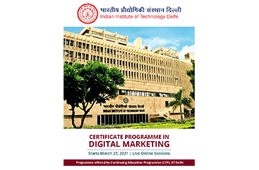 CEP Certificate Programme on Digital Marketing