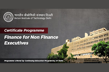 Certificate Programme in 'Finance for Non Finance Executives'