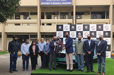 MG Motor India extends its relationship with IIT Delhi
