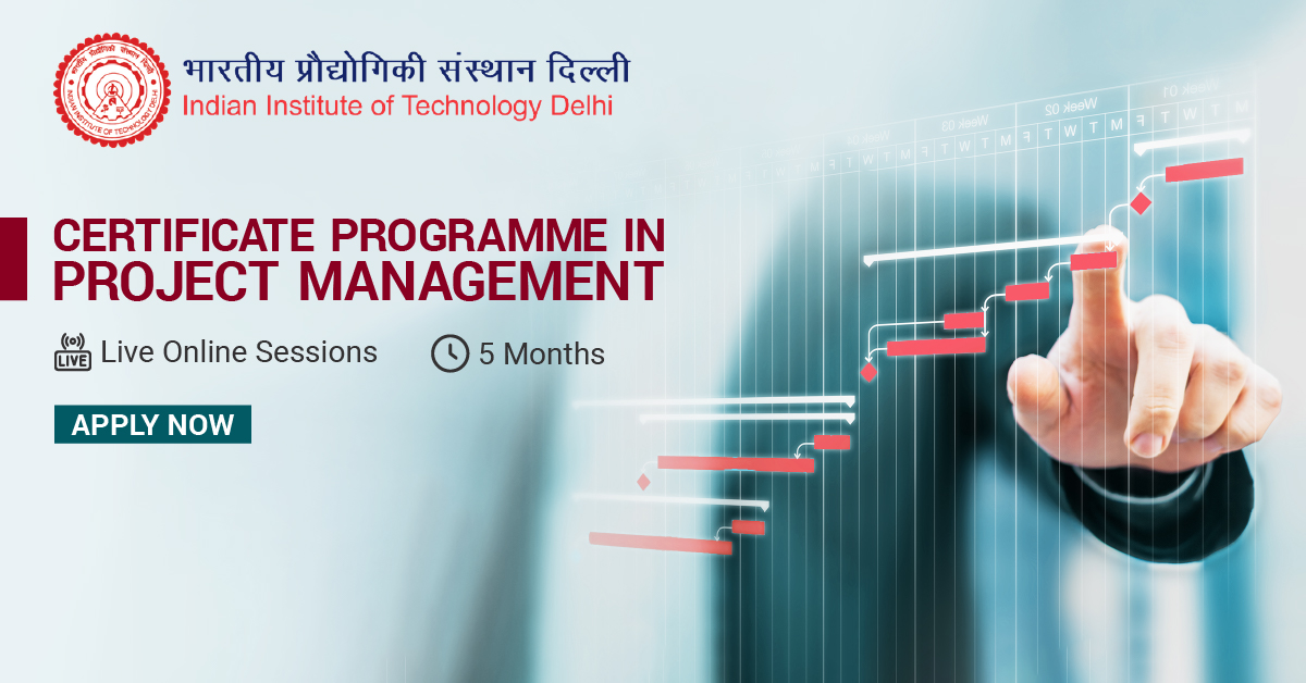 Certificate Programme in Project Management