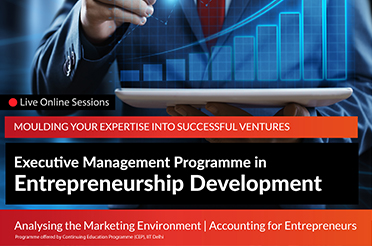 Executive Management Programme in Entrepreneurship Development