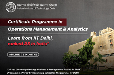 Advance Certificate Programme in