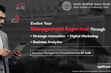 Executive Management Programme in Strategic Innovation, Digital Marketing and Business Analytics