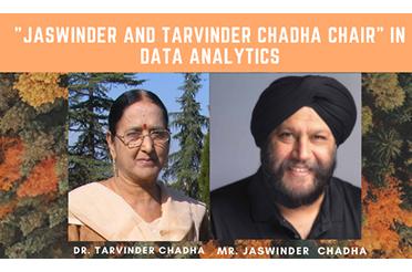 IIT Delhi Establishes Jaswinder and Tarvinder Chadha Chair in Data Analytics