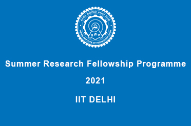Summer Research Fellowship Programme 2021